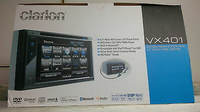 CLARION VX401 Flat Screen Multimedia Car Radio with REMOTE L@@K!