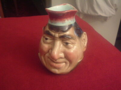 Sarreguemines Character Jug 13cms tall No makers mark only numbers