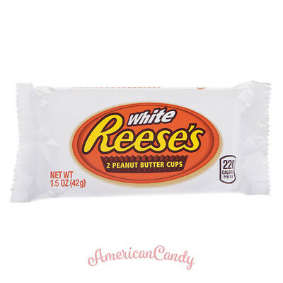 Reeses Alarma!: 48x Reese's Peanut Butter Cups White Chocolate ( 26,78€/kg )