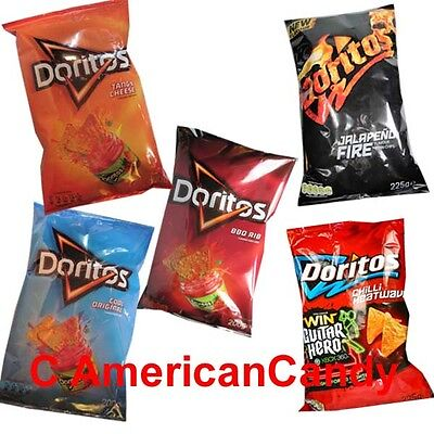 2x 200g Doritos USA (Tangy Cheese, Cool Original, Chili Heatwave) (22,48 €/ kg)