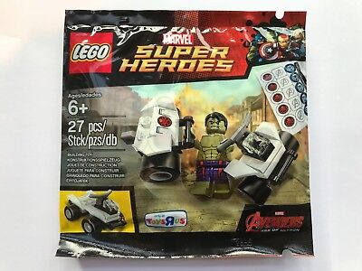 Lego Marvel Super Heroes 5003084 - The Hulk Exclusive Polybag Age Of Ultron