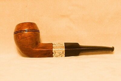 PIPA PIPE WITH STERLING SILVER BAND DATING BIRMINGHAM 1899-Like Dunhill group 3