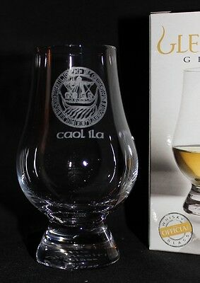 Caol Ila Islay Crest Glencairn Scotch Whisky Tasting Glass