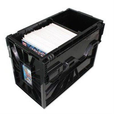 1 BCW Brand Short Comic Book Storage Box Bin Plastic Heavy Duty Stackable