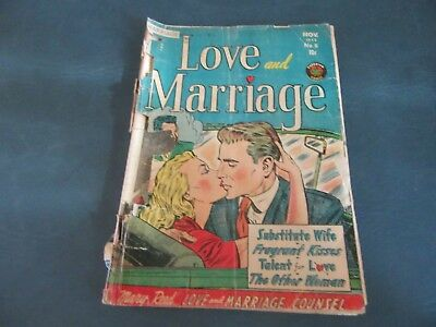 Vintage 1952 Love and Marriage #5 Low Grade! Complete!    Lot 18-4