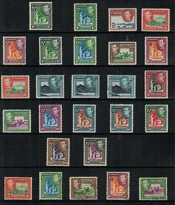 St.Vincent #156-159 Complete Set King Georgr VI 1949 MLH