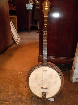 TENOR BANJO, RARE VINTAGE C.1930s BACON, USA.