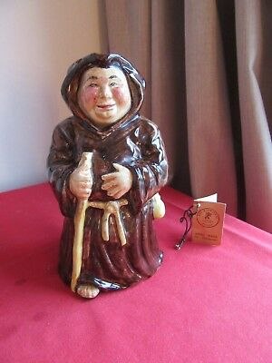 Roy Kirkham Friar Tuck Figurine With Booklet