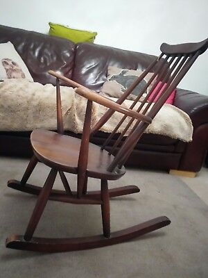 Lovely little Ercol vintage rocking chair