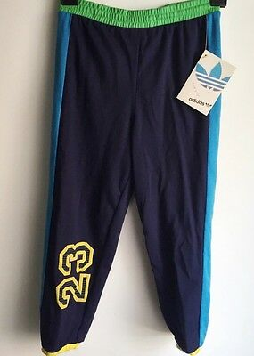 vtg adidas sweatpants deadstock NWT boys size small 80s