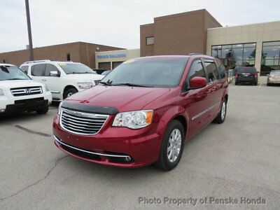 2014 Chrysler Town & Country 4dr Wagon Touring 4dr Wagon Touring Van Automatic V6 Cyl Deep Cherry Red Crystal Pearlcoat