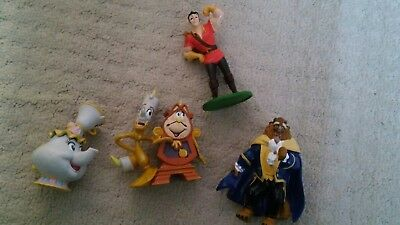 Disney Store Beauty and the Beast Figures