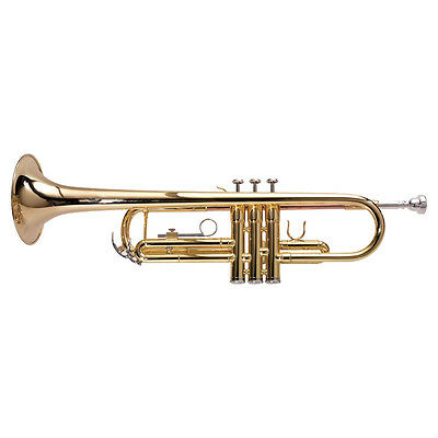 TR10 Bb TRUMPET ASHTON  NEW with CARRY CASE CLEANING CLOTH