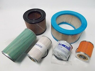 Filters for Lister Petter HA4 industrial engine