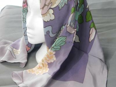 LIBERTY Silk Scarf - VINTAGE - Made in England 83 x 83 cms