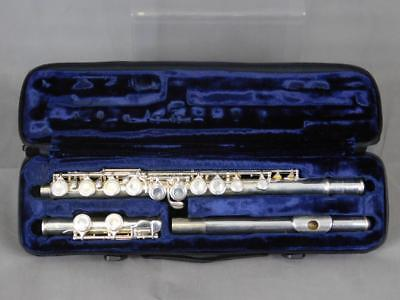 Trevor T James Silver Plated Flute with Case TJ10x Mark II