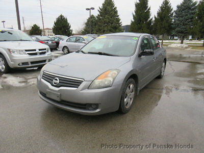 2007 Nissan Altima 2.5 S -Action or Auction- 2.5 S -Action or Auction- 4 dr Sedan Automatic Gasoline 2.5L 4 Cyl GRAY