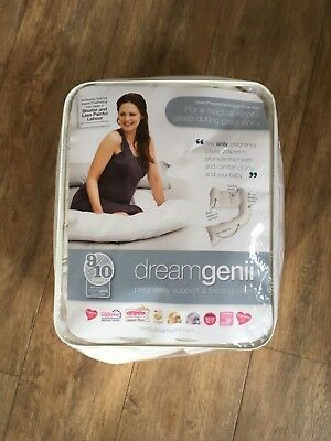 DREAMGENII Pregnancy and Feeding support pillow. Excellent condition!!!