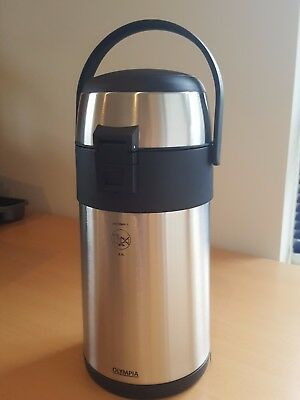 Olympia K635 Pump Action Airpot 2.5Ltr stainless steel new