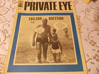 PRIVATE EYE MAGAZINE..No.253.FRIDAY 27th AUGUST 1971.$46.00 QUESTION