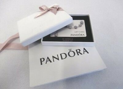 Pandora Jewellery Gift Card In Bag Box S Online 55