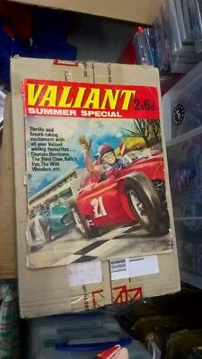 Valiant Summer Special 1965 Good Condition For Age Steel Claw Billy Bunter