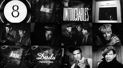 16mm TV EPISODE: THE UNTOUCHABLES starring MIKE CONNORS