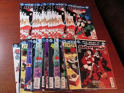 Lot of 31 ALL Harley Quinn Comic Book Dealer Store Inventory Closeout Batman WOW