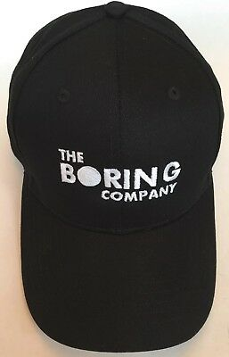 The Boring Company Hat - Guaranteed Authentic - No Reserve - Free Shipping