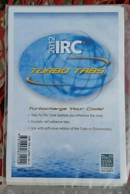 NEW 2012 International Residential Code IRC Turbo Tabs for Softcover Edition