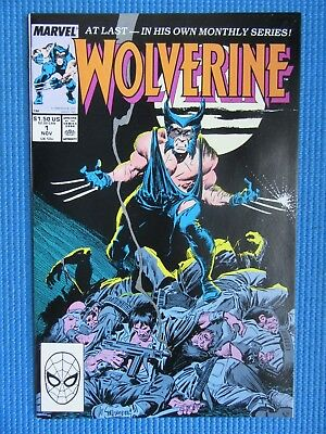 Wolverine # 1 - (Nm+) -1St Issue - 1St Wolverine As Patch - High Grade