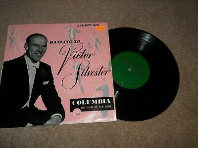 """DANCING TO VICTOR SILVESTER NUMBER SIX 6 10"""" Vinyl LP Record RARE 33S 1082"""