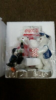 Coca Cola Polar Bear Cub Figurine The Rewards Of Membership Issue 2000