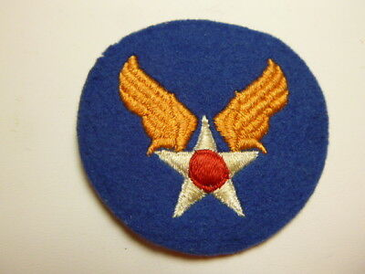A    WW 2 U S Army Air Force Embroidered Felt  Patch