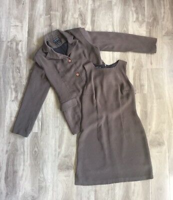 Witchery 2 Piece Womens Brown Suit 10