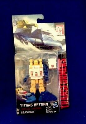 Hasbro Transformers Titans Return W3/17 Legend Class Seaspray  NEW Free Shipping
