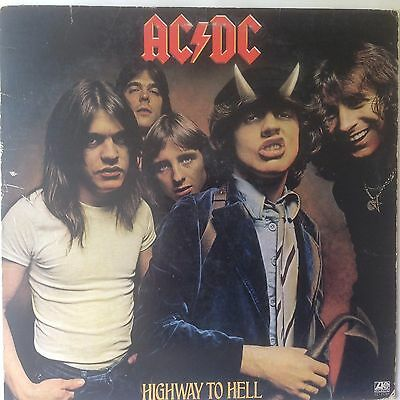 "Ac Dc - ""highway To Hell"" - 1979 Vintage Lp - Atlantic Stereo - Sd-19244"
