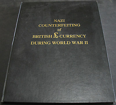 Nazi Counterfeiting Of British Currency During World War II RARE #30 of 1000
