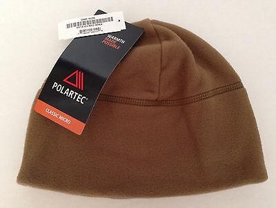US Marine Corps Polartec Fleece Watch Cap Coyote Brown
