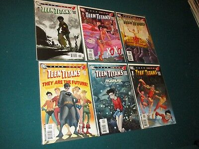 DC Comics Teen Titans Year One Full Run 1-6 2008 9.8+ High Grade Complete Lot