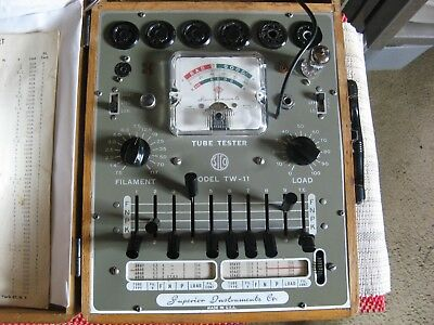 Superior tube tester TW-11 good condition