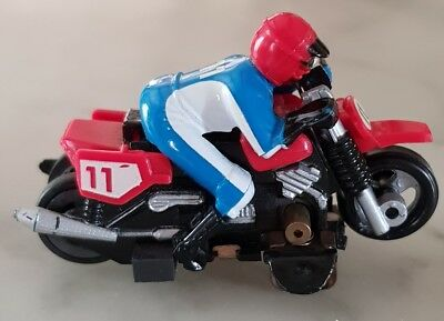 TYCO Motorcycle AFX Red No. 11 HO