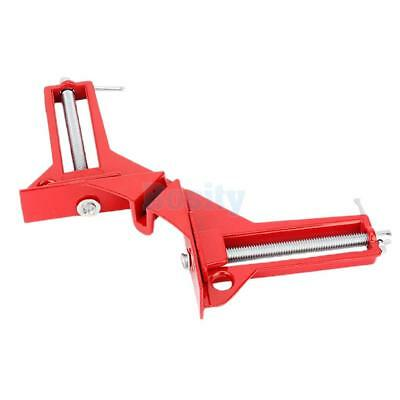 "3"" Right Angle Miter Corner Picture Frame Clamp Holder Woodwork Fasteners"