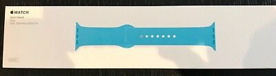 Genuine Apple Watch Sports Band (Blue) 316L Stainless Steel Pin - as new