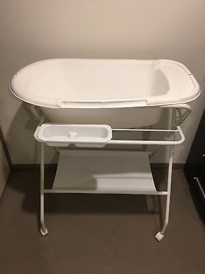 Baby Bath Tub and Stand With Hose EUC and Very Clean #SundayMarket