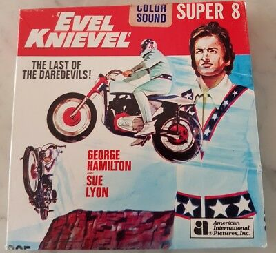 Evel Knievel -  Super 8 Colour Sound home movie American International Pictures