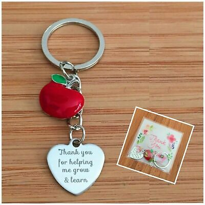 Thank You Teacher Gift Keyring Teaching assistant Nursery teacher