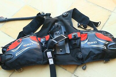 Mares Prestige BCD size M with integrated weight pockets great condition