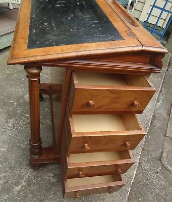Old Davenport Style Writing Desk