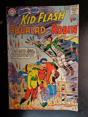 DC  The Brave and the Bold (1st Series)  #54   1964